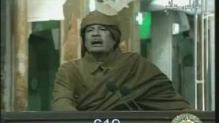 Repeat youtube video أقوى لقطة في خطاب القذافي 22 فبراير