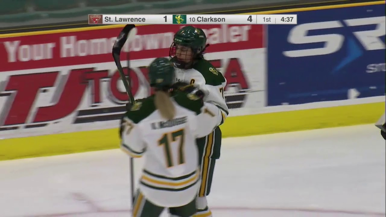 Clarkson 8, St. Lawrence 1 (women's hockey)