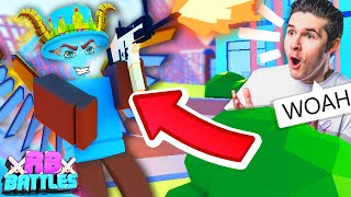 STRUCID PRO BATTLES IT OUT IN ROBLOX FORTNITE FOR 20,000 ROBUX! (Roblox Battles)