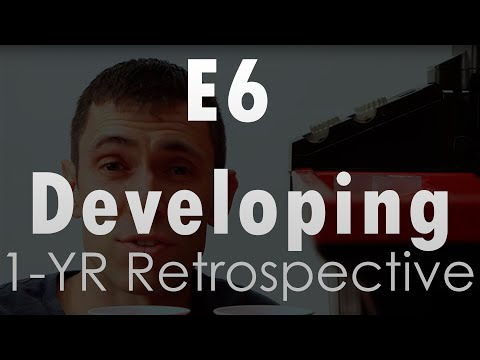 E6 Film Developing - A 1-Year Retrospective