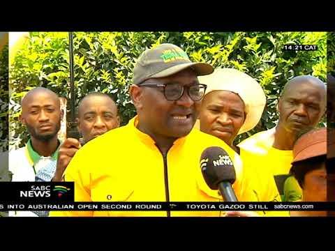 ANC Gauteng leadership on a door to door campaign ahead of elections