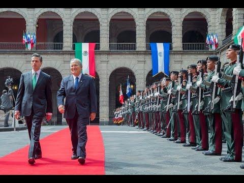 Visita Oficial del señor Salvador Sánchez Cerén, Presidente de la República de El Salvador