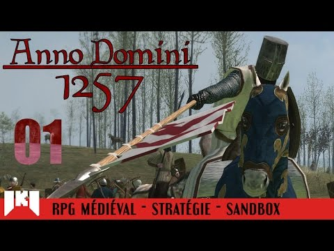 [FR] Mount and Blade Warband Anno Domini 1257 - Découverte du mod 1/3