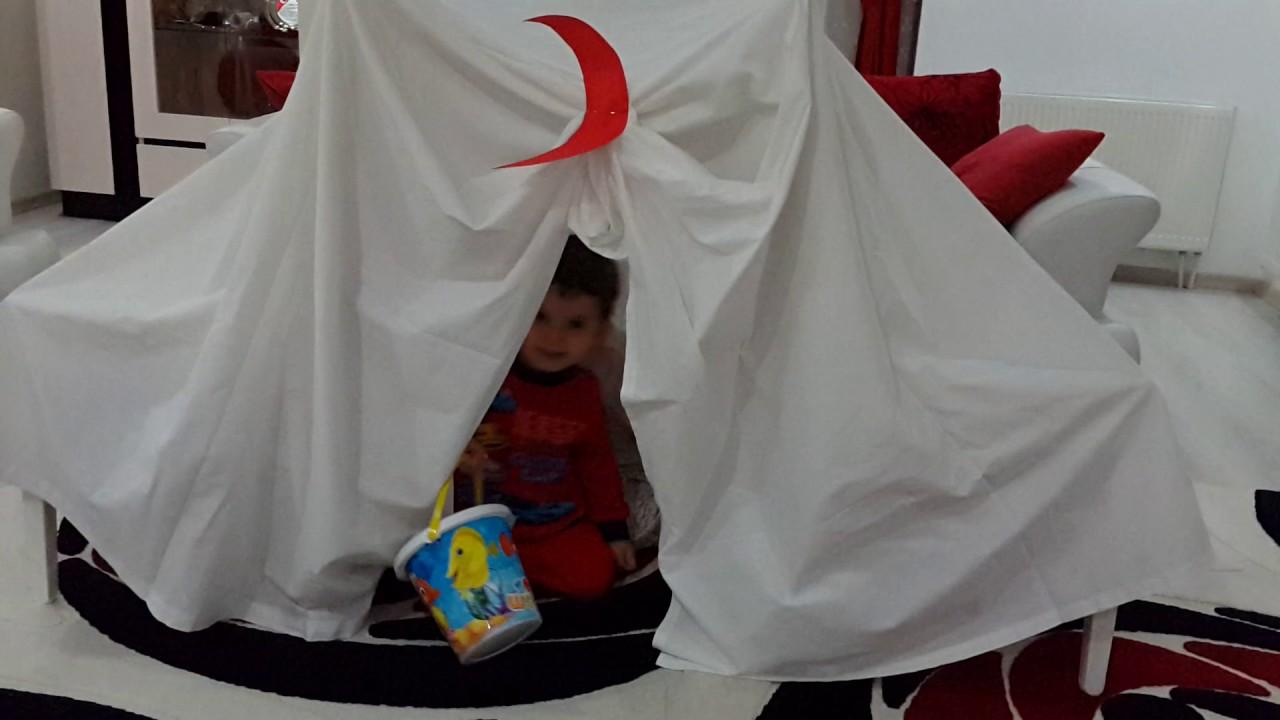 Kızılay çadırı Yaptık Kızılay Derneğini öğreniyoruz Youtube