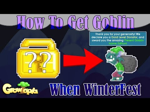 GrowTopia | How To Get Goblin [WinterFest]