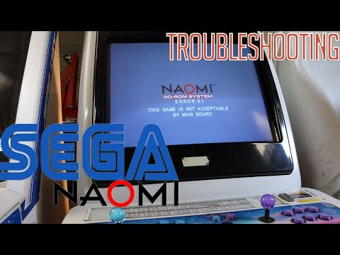 Sega Naomi Error 21 - Troubleshooting (Arcade Candy) - YouTube