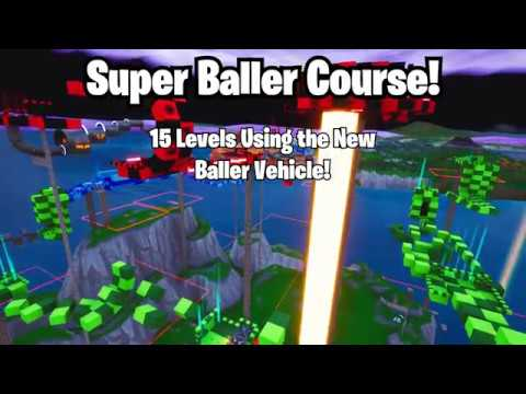 Super Baller Course A Challenge Map With The New Baller Vehicle In