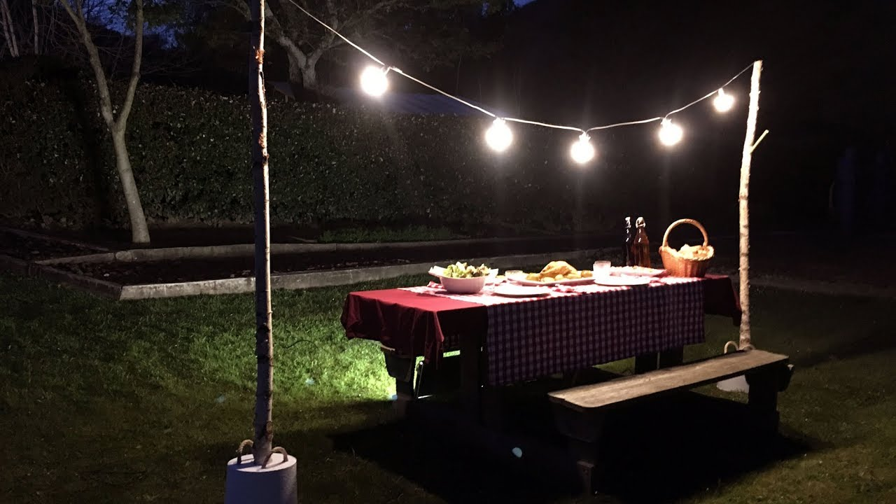 programa completo soporte para guirnalda de luces bricomania