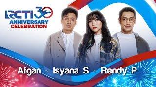"Download Mp3 Rcti 30 : Anniversary Celebration - Afgan, Isyana, Rendy ""lagu Cinta"""