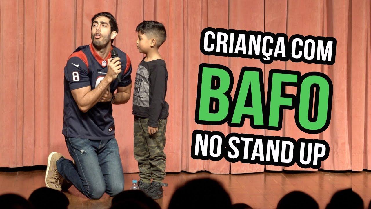 CRIANÇA COM BAFO NO STAND UP - Jonathan Nemer