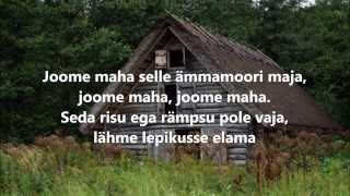 Ämmamoori maja sõnadega lyrics