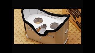Очки Виртуальная реальность. Сборка из картона VR . 3D virtual reality glasses cardboard(Очки Виртуальная реальность Сборка из картона очков виртуальной реальности. Своими руками. 3d glasses cardboard...., 2016-03-29T19:13:31.000Z)