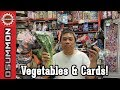 There's vegetables and booster packs here! - Most Unique Card Store in Singapore! (Full-Yen Trading)