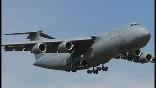 MEGA C-5M Super Galaxy Landing at RAF Mildenhall