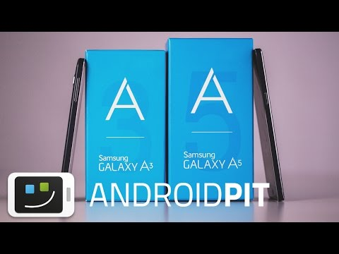 Samsung Galaxy A3 & A5 - Hands-on en español