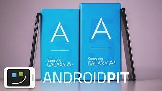 Samsung Galaxy A3 & A5 - Hands-on en español