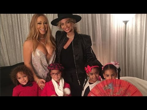 Download Youtube: Mariah Carey's Twins and Beyonce's Blue Ivy Are Instant BFFs On First Playdate