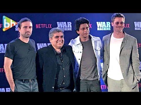 Shah Rukh Khan   Brad Pitt   War Machine Movie Premiere In Mumbai