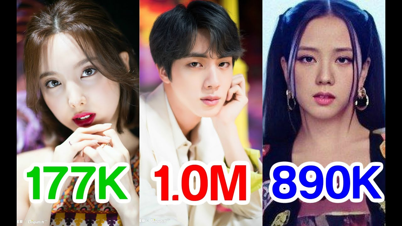 Most Disliked Kpop Music Videos All Above 100k Dislikes Ll 1 000 Subs Special Youtube