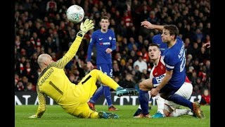 Arsenal 2-1 Chelsea Carabao Cup 2018 Full highlights and Goals HD