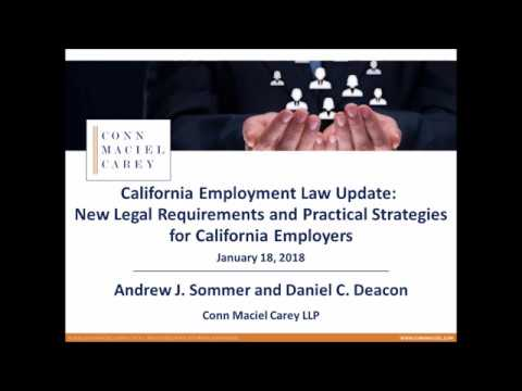 california-employment-law-update:-new-legal-requirements-and-practical-strategies-for-ca-employers