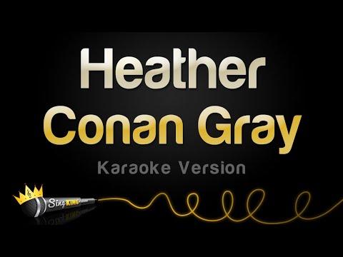 Conan Gray – Heather (Karaoke Version)