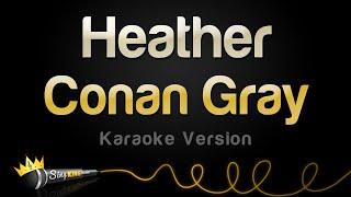 Download Conan Gray - Heather (Karaoke Version)