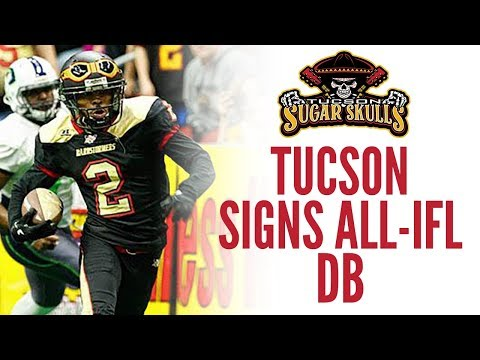 Tucson Signs All-IFL DB