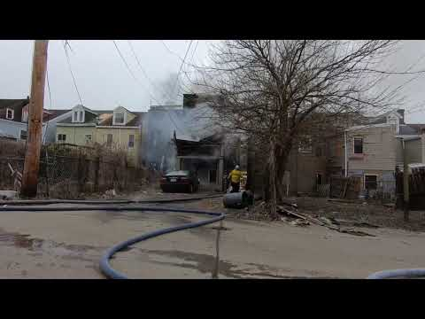 City of Pittsburgh 2-Alarm Fire w/entrapment - 1/12/19