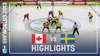 Canada - Sweden | Highlights | #IIHFWorlds 2013