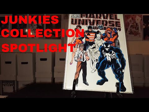 JUNKIES COLLECTION SPOTLIGHT: OFFICIAL HANDBOOK TO THE MARVEL UNIVERSE!!