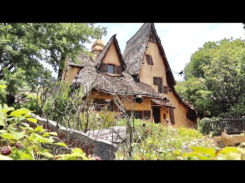 Storybook Homes Tour of Los Angeles - The Witch and Hobbit Houses / Snow White Cottages & MORE