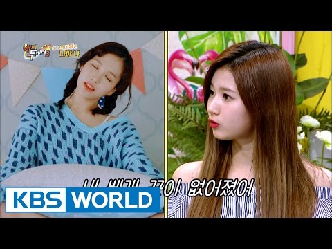 """Sana """"I'm the only one that sleep walks out of the guests!"""" [Happy Together / 2017.05.18]"""