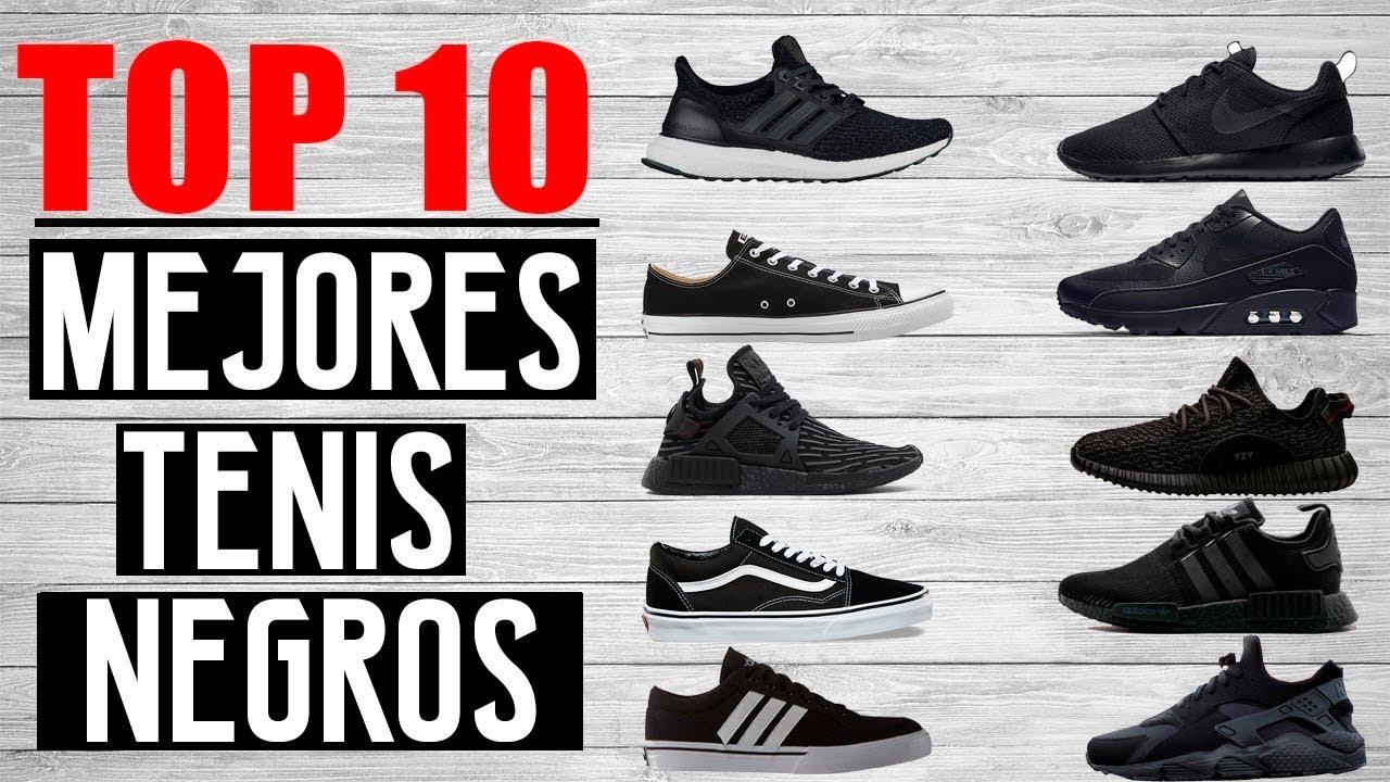 tienda de descuento elige auténtico disfruta del precio de descuento TOP 10 MEJORES TENIS NEGROS   JR Style For Men