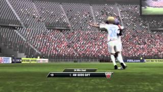 I PLAYED FIFA 11!!!