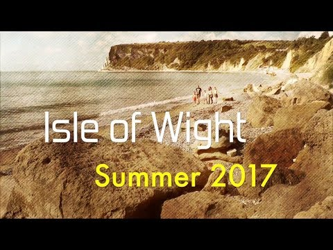 Isle of Wight Summer 2017 Holiday at Whitecliff Bay