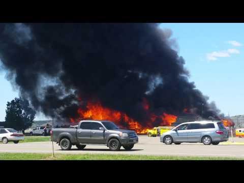 Miles City Stockyards Fire