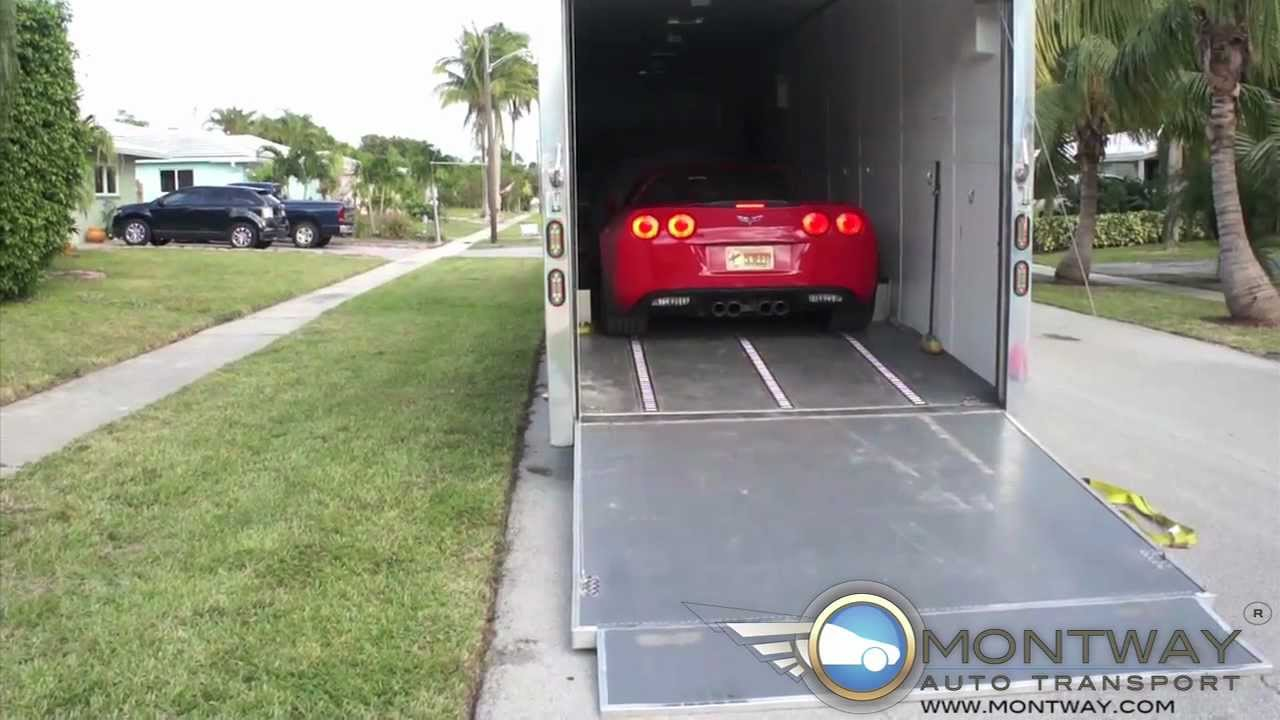 Delievring a 2009 Chevy Corvette | Montway Auto Transport