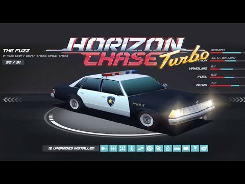 Horizon Chase:  All The Cars  Unlocked ( 31 Cars )