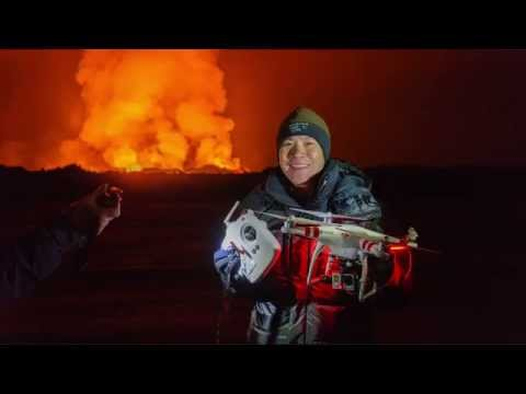 Flying Drones Over Volcanoes (from Tested: The Show!)