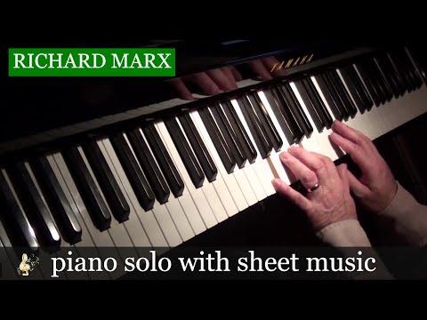 Right Here Waiting - Richard Marx - Piano Solo