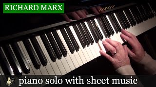 Right Here Waiting - Richard Marx - Piano Solo