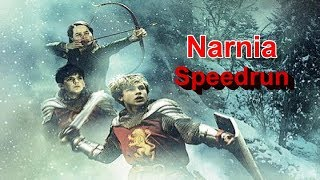 The Chronicles of Narnia: The Lion, the Witch and the Wardrobe Speedrun (with cheat) PS2
