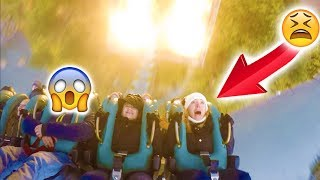 VLOG - EN CHUTE LIBRE DANS UNE ATTRACTION  ! 😱  Sensations Fortes à Efteling