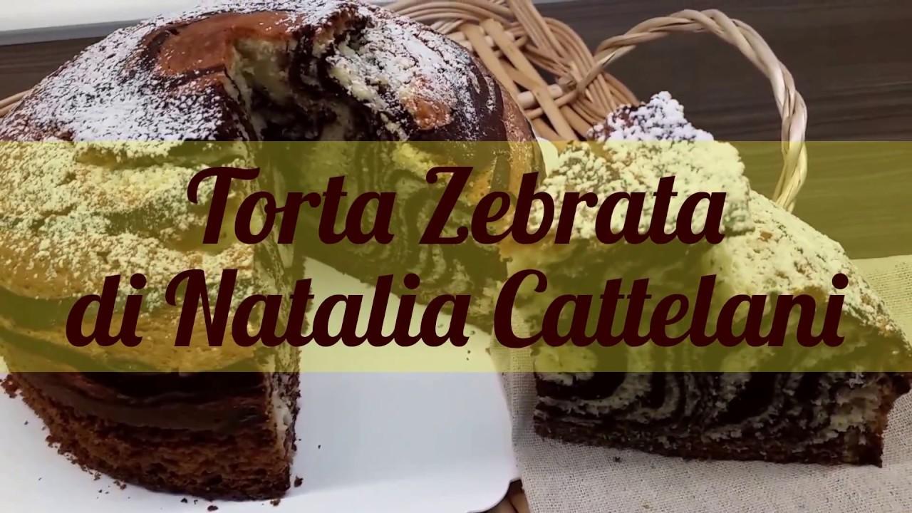 Torta Morbida Zebrata Di Natalia Cattelani Ricetta Youtube