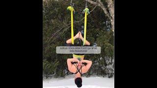 Séance d'Aerial Yoga pour débutant (30 min)