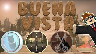 HOW TO GET ALL BADGES!   Buena Vista   ROBLOX
