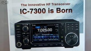 ハムフェア2015 アイコム篇 ic 7300 ic 7851 tokyo ham radio fair 2015 icom booth