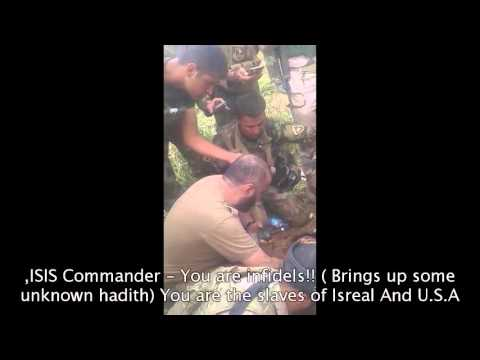 GRAPHIC!! ISIS Comndr Want his own soldier to be killed, by peshemmerga May 2016