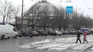 Донецк сегодня! пересечение ул Челюскинцев и Б.Хмельницкого